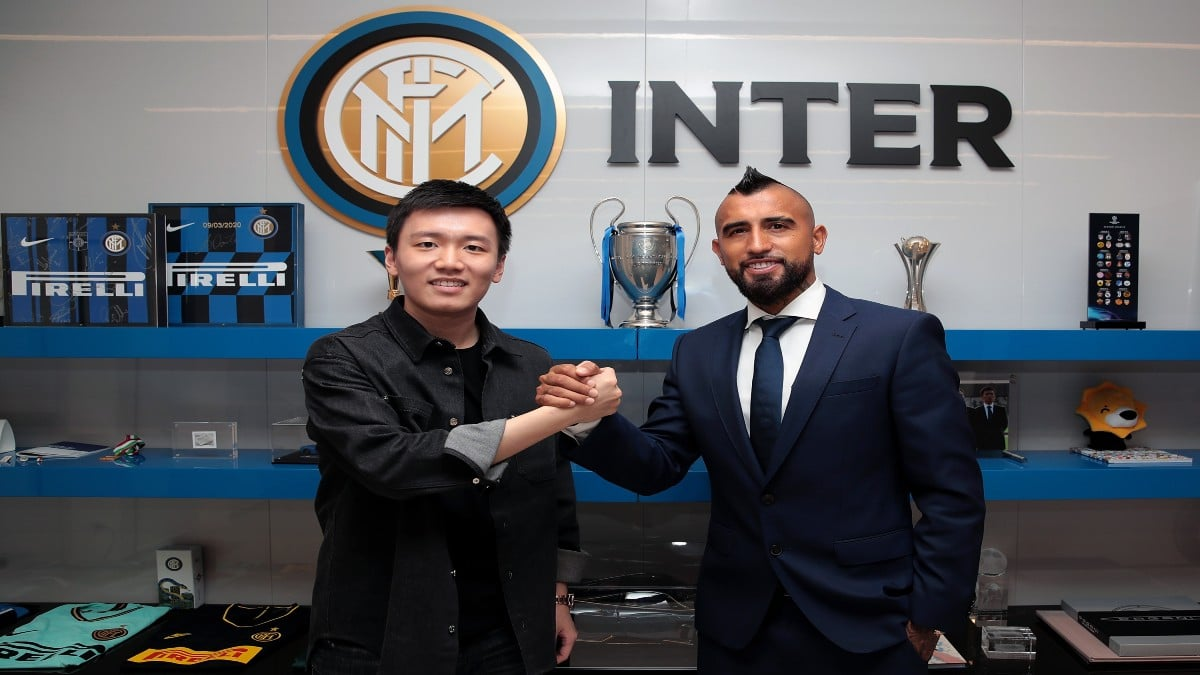 Inter acquista Vidal